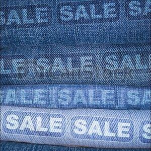 Denim - Jean clearance sale/This listing NFS
